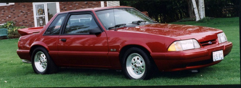 93 Mustang 5.0 Hatchback 1993 Mustang 5.0 Lx/lx